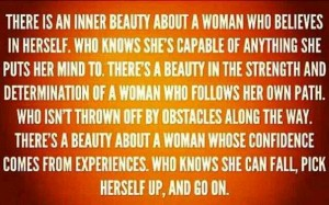 The Beauty in a Woman