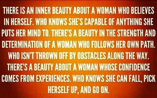 The Inner Beauty of a Woman