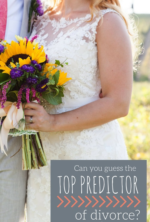 Can You Guess The Top Predictor of Divorce?
