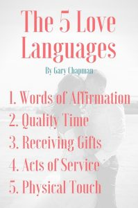 THE 5 LOVE LANGUAGES - THE SECRET TO LOVE THAT LASTS