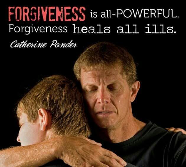 Free at last: I forgive you