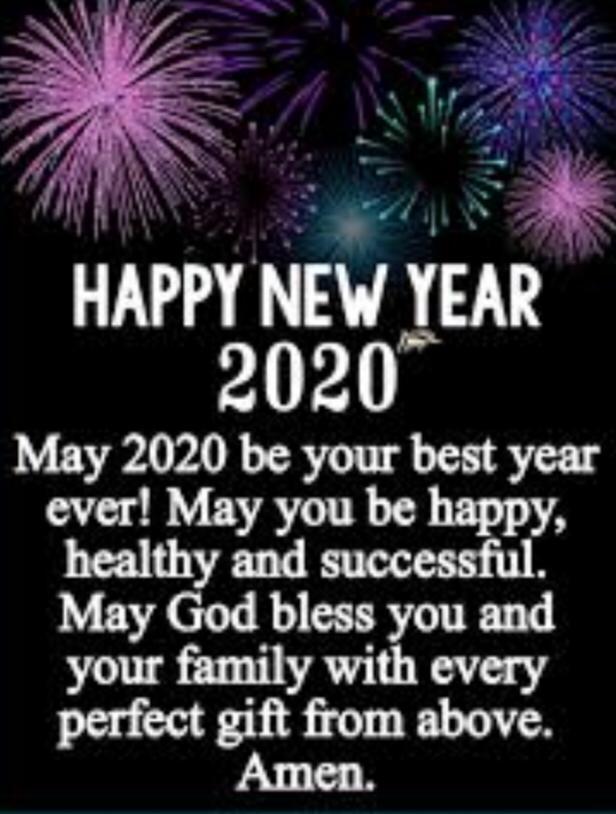 Goodbye 2019… Hello 2020